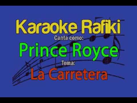 Prince Royce - La Carretera Karaoke Demo