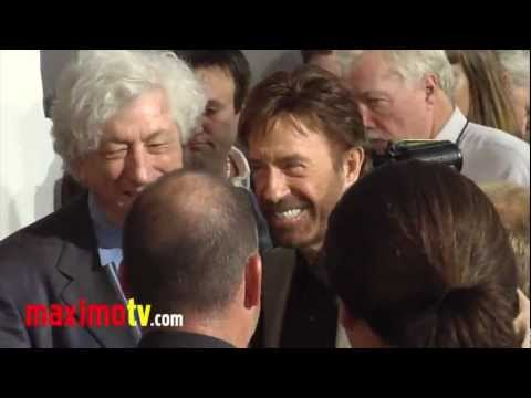 Chuck Norris in The Expendables 2 L.A. Premiere #2.