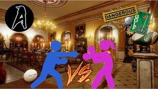 Dangerous Golf | Husband vs Wife | Livestream 6/25/2017
