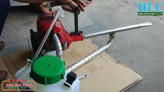 Giới thiệu máy phun khói diệt côn trùng Tomikama  HLC 55