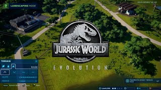 TERRAIN TOOLS & LANDSCAPING IN JURASSIC WORLD: EVOLUTION