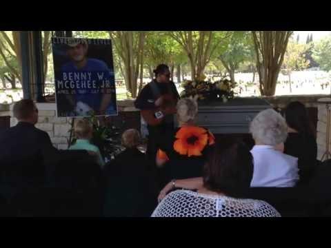 """Rivers of Babylon"" performed by Adam Alexander in memory of Benny W. McGehee, JR."