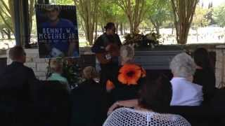 """Rivers of Babylon"" performed by Adam Alexander in memory of Benny W. McGehee, JR."