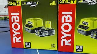 Огляд зарядних пристроїв Ryobi ONE+