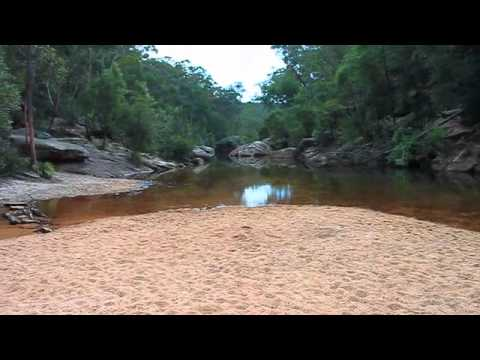 Jellybean Pool at Glenbrook in the Lower Blue Mountains Australia