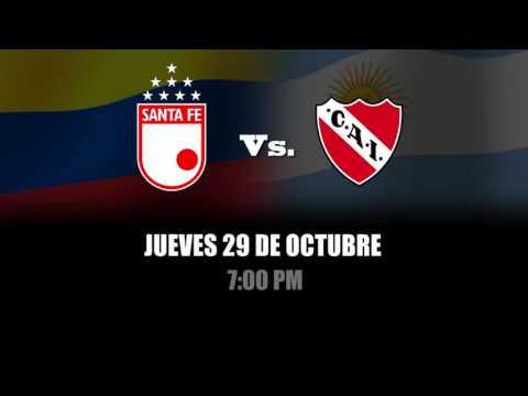 Independiente Santa Fe vs. Independiente :: Copa Sudamericana 2015 #YoSoyElLeón