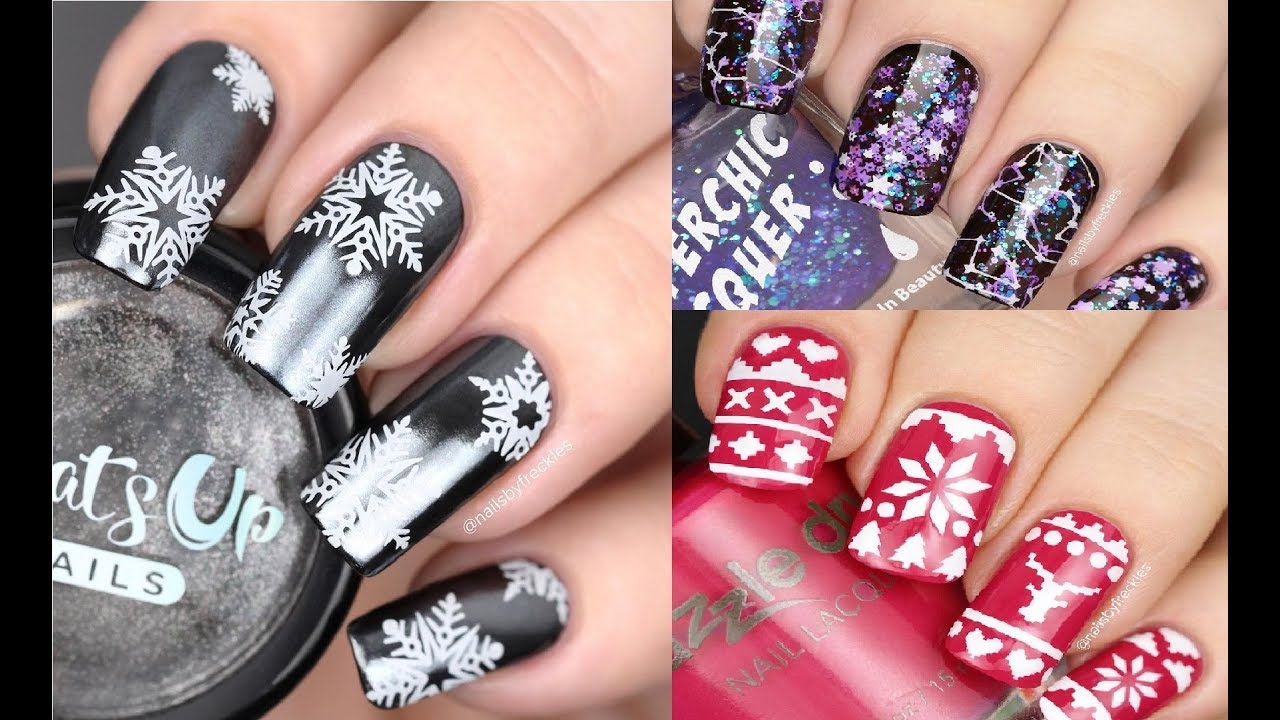 New Amazing Nail Art Designs 2018 Compilation For Winter Holiday On