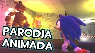 Five Nights at Sonics Spanish fandub Parodia animada