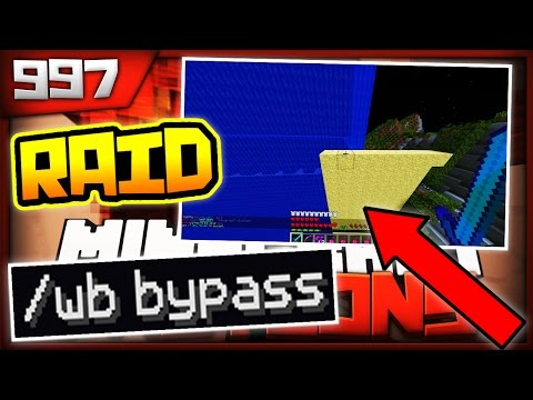 Minecraft FACTIONS Server Lets Play - RAIDING US OUTSIDE THE WB!! - Ep. 997 ( Minecraft Faction )