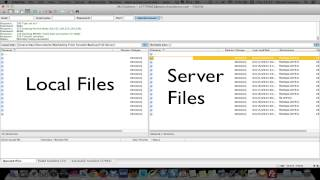 Backup WordPress Files with FTP