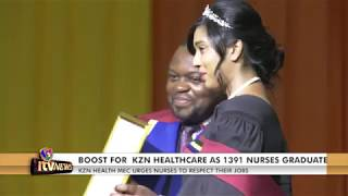 MAJOR BOOST FOR  KZN HEALTHCARE AS 1391 NURSES GRADUATE