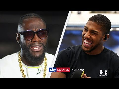 EXCLUSIVE: Deontay Wilder says Anthony Joshua fight will happen if negotiations are kept private!