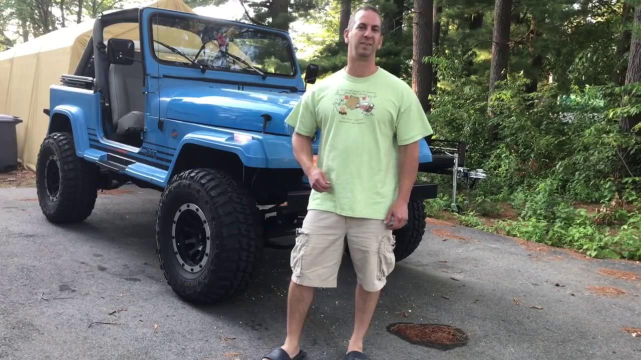 project 89 jeep wrangler yj walk around [ 1280 x 720 Pixel ]