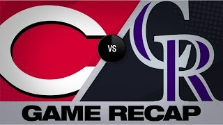 Dahl, Murphy lift the Rockies to a 3-2 win | Reds-Rockies Game Highlights 7/12/19