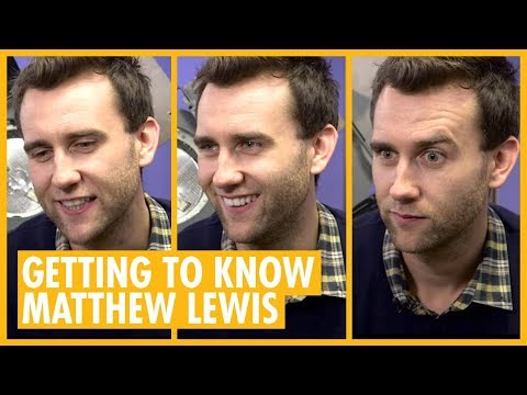 Getting to Know Actor Matthew Lewis