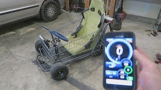 Top Speed Run in the Shopping Go Kart!