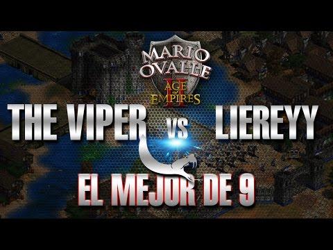 VIPER VS LIEREYY AL MEJOR DE NUEVE POR 100 DOLARETES AGE OF EMPIRES 2