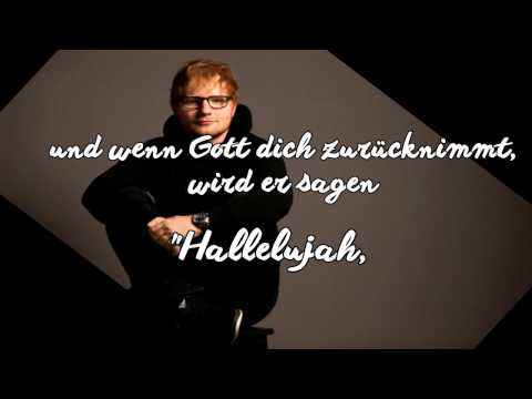 Supermarket Flowers - Übersetzung - Ed Sheeran (Deutsch)