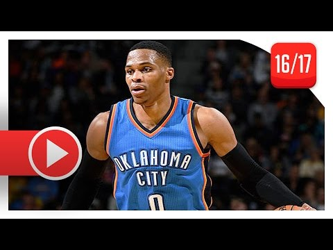 Russell Westbrook Full Highlights vs Nuggets (2016.11.25) - 36 Pts, 18 Ast, 12 Reb, BEAST!