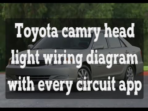 [WLLP_2054]   Toyota camry head light wiring diagram with every circuit application -  YouTube | 2007 Toyota Camry Headlight Wiring Diagram |  | YouTube