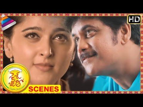 Size Zero Telugu Movie Scenes | Nagarjuna supports Anushka's campaign | Arya | Telugu Filmnagar