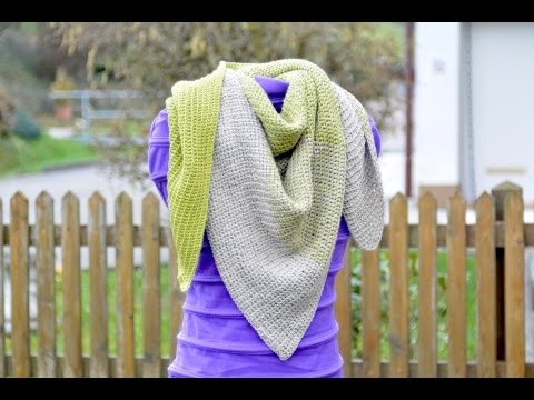 Shawl Hoffnung tunisian crochet pattern – ® Woolpedia