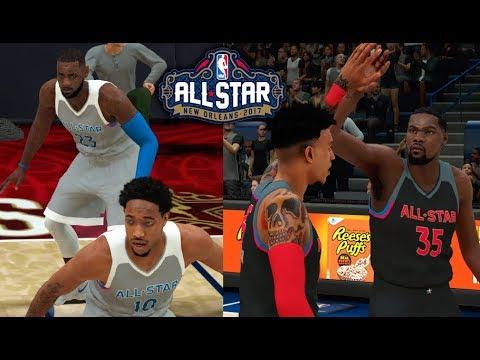 NBA 2K18 MyCareer #31 l All-Star Game: TRIPLE DOUBLE NO JOGO DAS ESTRELAS! [Jogo Completo]