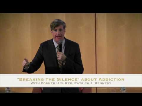 Breaking The Silence with Patrick Kennedy at Camden County College