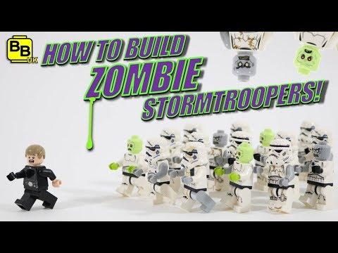 LEGO ZOMBIE STORMTROOPERS TUTORIAL!!