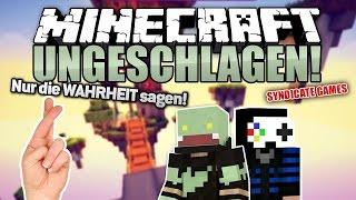Nur die WAHRHEIT - Challenge mit GLP - Minecraft UNGESCHLAGEN #99 | ungespielt