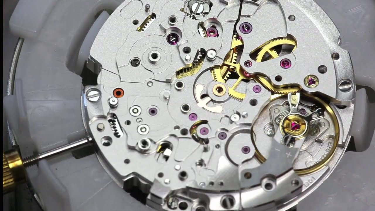 Super Factories Breitling 2 Watch Movement Youtube