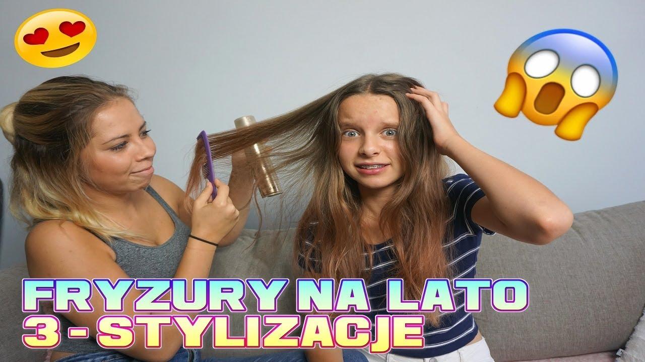 Fryzury Na Lato Stylizacje Włosów Jak Ja Wyglądam Amelie