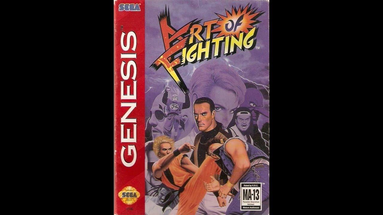 Art Of Fighting Sega Genesis Youtube