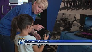 Cosmic Carnival lets visitors explore space with virtual reality