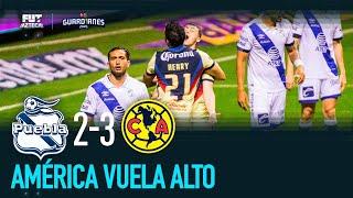 Puebla 2-3 América | Resumen y goles, Jornada 9 Guardianes 2020 | Liga MX