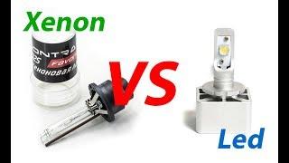XENON vs LED: подробный обзор