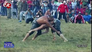 Tartışmalı Güreş! Orhan Okulu - İsmail Balaban Konyaaltı Yarı Final