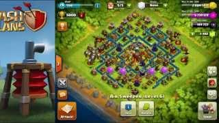 KEGUNAAN AIR SWEEPER UNTUK di (COC) CLASH OF CLANS YouTube
