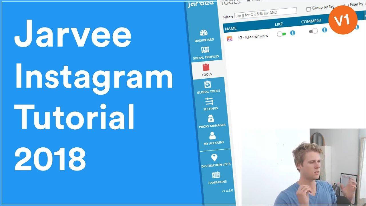 Jarvee Instagram Tutorial 2018 - YouTube