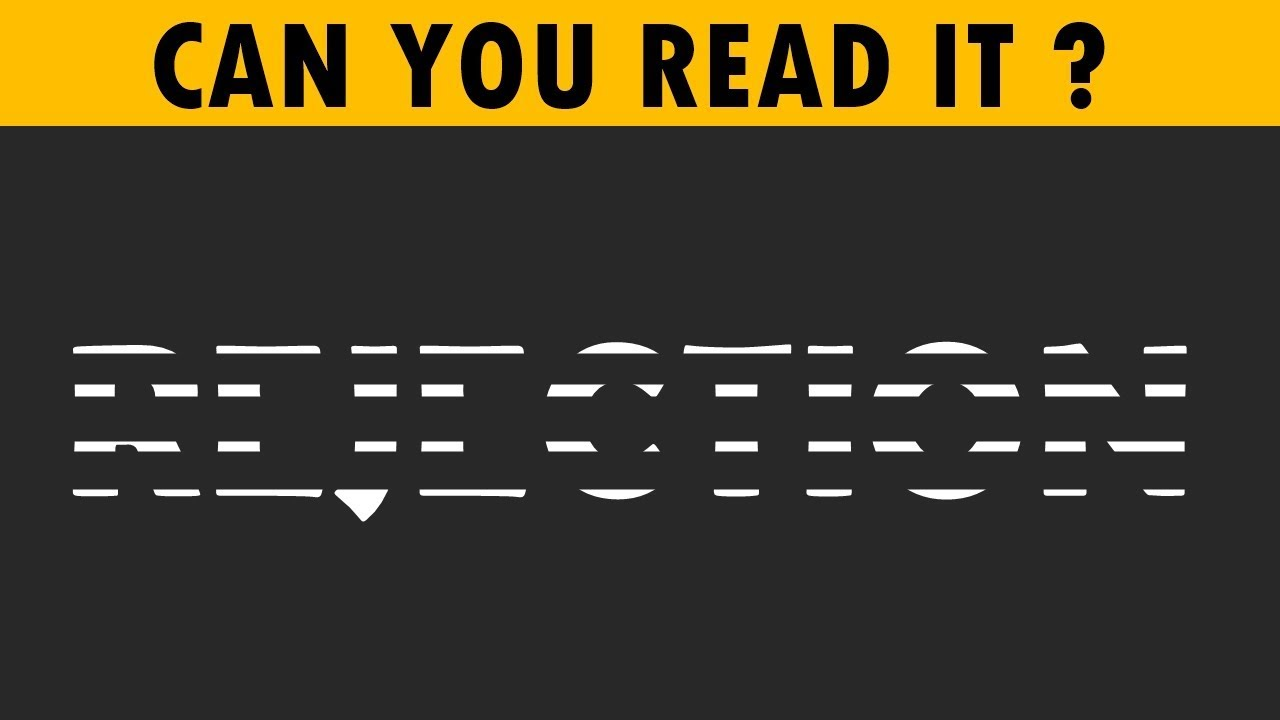 Only People With High IQ Can Read These Erased Words