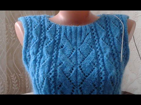 """Свитер """"Геометрия"""". Часть 3. Кnit Sweater."""