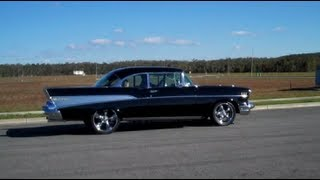 cruising in the 57 chevy bel air