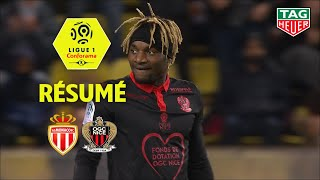 AS Monaco - OGC Nice ( 1-1 ) - Résumé - (ASM - OGCN) / 2018-19