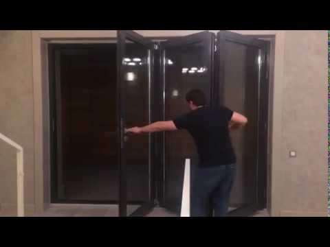 Пластиковые окна и двери - гармошка