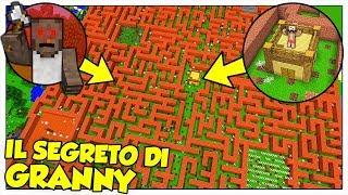 LA NOSTRA CASA NEL LABIRINTO SEGRETO DI GRANNY! - Minecraft ITA