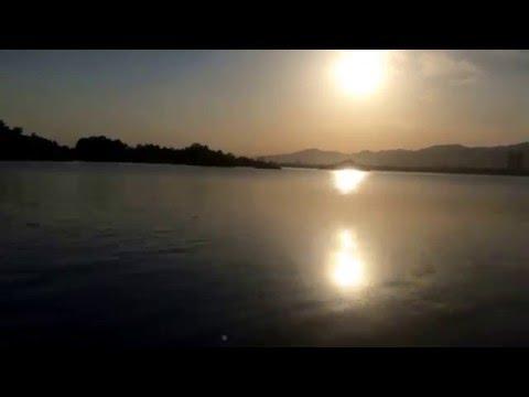 Sun Set at Rawal lake