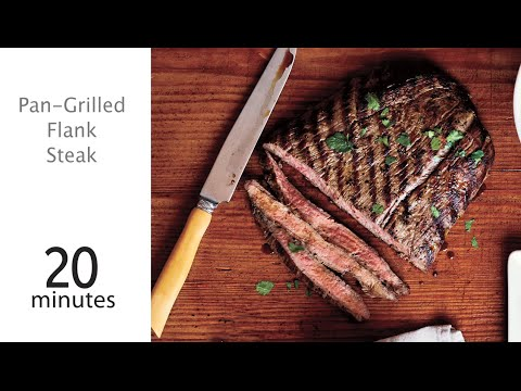 How to Make Pan-Grilled Flank Steak | MyRecipes - YouTube