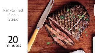 How To Make Pan-grilled Flank Steak | Myrecipes