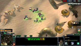 Warcraft 4 - SC2 arcade gameplay!