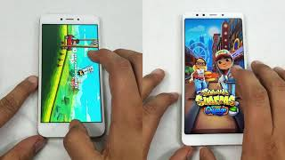 Xiaomi Redmi 5 VS Xiaomi Redmi 5A-  Speedtest & Comparison